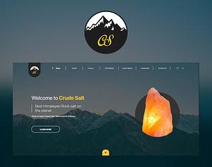 crudesalt - web design